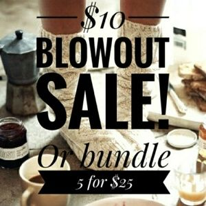 Other - $10 blowout sale!